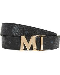 MCM Claus M Reversible Belt - Black