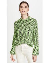 Blank NYC The Clash Sweater - Green