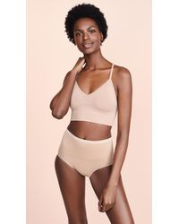 Yummie By Heather Thomson - Ultralight Seamless Lace Back Bralette - Lyst