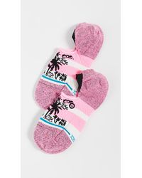 Stance Harbor Socks - Pink