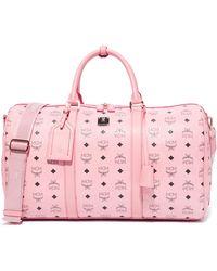 MCM Weekender Bag - Pink