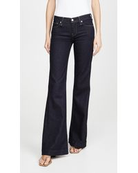 7 For All Mankind Dojo Bootcut Jeans - Blue