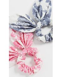 LoveShackFancy Promenade Scrunchies - Multicolour