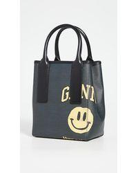 Ganni Smiley Bucket Bag - Multicolor