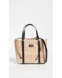 a55be1fa57 Frances Valentine Arielle Wicker Satchel - Lyst