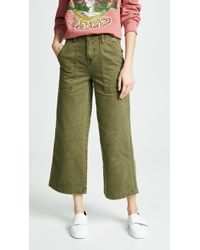 Blank NYC - Wide Leg Utility Pants - Lyst