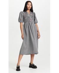 Tach Clothing Adelfa Smocked Dress - Multicolour