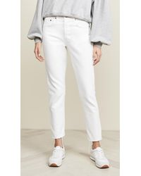 Levi's 501 Skinny Jeans - White