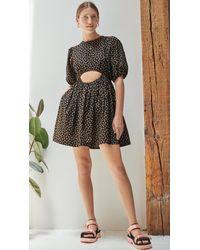 Sandy Liang Stum Dress - Black