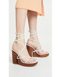 Jacquemus Les Sandales Pilotis Sandals - White
