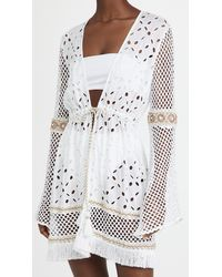 Ramy Brook Amal Cover Up Dress - White