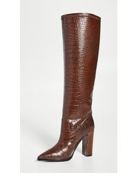 Matiko Liza To The Knee Boots - Brown