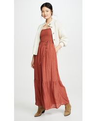 Free People Little Of Your Love Jumpsuit - Red