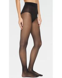 Wolford - Seamless Pure 10 Tights - Lyst