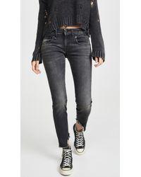 R13 Boy Skinny Jeans - Black