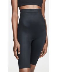 Spanx Power Conceal-her Extended Length Shorts - Black