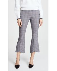 Robert Rodriguez - Plaid Cropped Trousers - Lyst