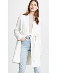 TSE - Cashmere Cardigan Coat - Lyst
