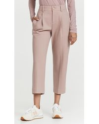 Vince Cosy Tapered Trousers - Multicolour