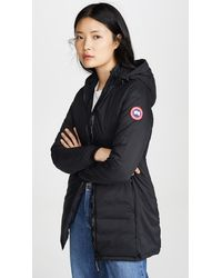 Canada Goose Camp Hooded Jacket - Black