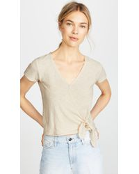 Madewell - Miller Short Sleeve Top - Lyst