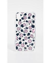 Kate Spade Jewelled Floradoodle Iphone Case - Blue