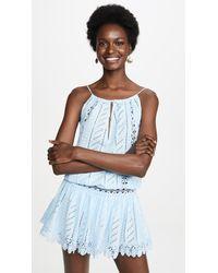 Melissa Odabash Chelsea Cover Up - Blue