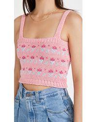Tach Clothing Mayra Knit Top - Pink