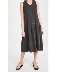 Wilt Drop Waist Dress - Black