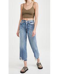 AMO Sophie Crop Jeans - Blue
