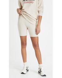 FRAME Vintage Bike Shorts - White