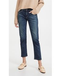 Citizens of Humanity The Principle Girlfriend Jeans - Blue