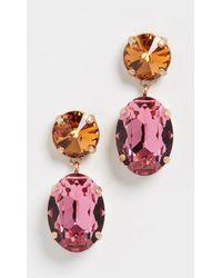 Roxanne Assoulin Hip-hop But Not Mini Me Earrings - Pink