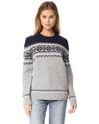 Penfield Heywood Knit Sweater - Gray