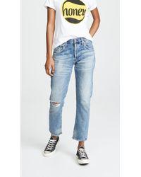 Citizens of Humanity Emerson Slim Fit Boyfriend Jeans - Blue
