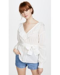 St. Roche | Camille Blouse | Lyst