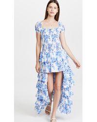 Caroline Constas Malta Gown - Blue