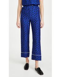 Marni Pajama Pants - Blue