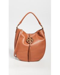 Tory Burch Miller Metal Slouchy Hobo Bag - Multicolour