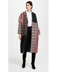 Leur Logette - Mahlia Kent Tweed Pannel Coat - Lyst