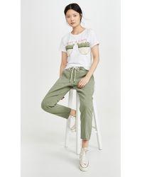 One Teaspoon Shabbies Drawstring Boyfriend Jeans - Green