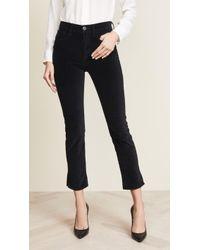 3x1 - W3 Velvet Higher Ground Mini Split Jeans - Lyst