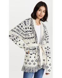Mother The Belted Short Cardigan - Multicolour