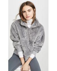 Varley Duray Half-zip Fleece Pullover - Gray