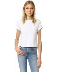 T By Alexander Wang - High Twist Cotton Jersey Boy Tee - Lyst