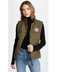 Canada Goose - Freestyle Padded Vest - Lyst