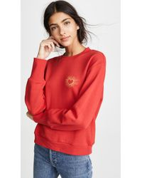 The Fifth Label Heartbeat Sweatshirt - Red