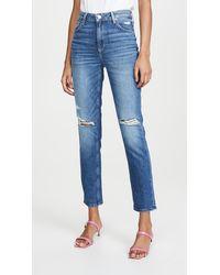 PAIGE Sarah Slim Jeans - Blue