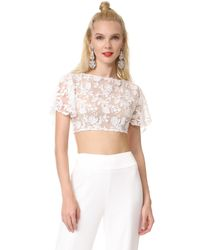 Rime Arodaky Nola Crop Top - White
