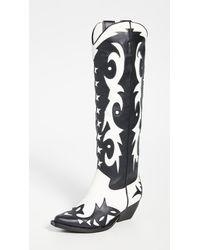 Jeffrey Campbell Starwood Western Boots - Black